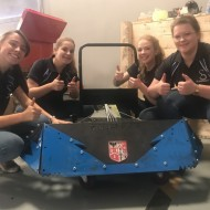 Essex Laser's been helping students build robots for Robot Wars